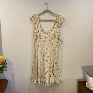 Free People Lemon Dress